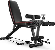 HBBY Banc Musculation Inclinable Declinable, Banc