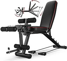 HBBY Banc Musculation Inclinable Professionnel,