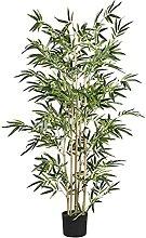 HBR Plante Artificielle Arbre de Soie en Bambou