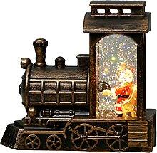 HDBD Pendentif Noël Père Noël Conduite Train