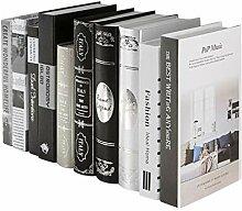 Healifty Livre décoratif Faux Livre Photo Prop