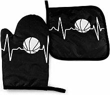 Heartbeat Basketball Noir Et Blanc Blanc Noir