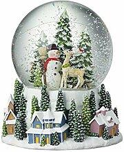 Heaven Sends Boule à neige Père Noël en forme