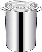HEAVY Induction Pot en Acier Inoxydable marmite,