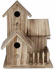 HechoVinen Cabane pour oiseaux en bois, petit