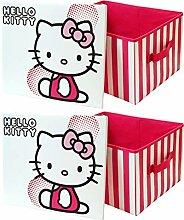 Hello Kitty - Boîte de Rangement pour Jouets