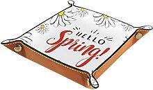Hello Spring Boîte de rangement pour clés,