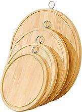 HelloCreate Planche à découper en bambou pour