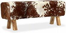 Helloshop26 - Banquette pouf tabouret meuble banc