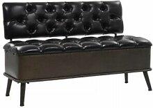Helloshop26 Banquette pouf tabouret meuble banc de