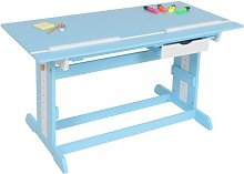 Helloshop26 - Bureau enfant meuble chambre bleu