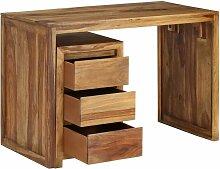 Helloshop26 - Bureau table meuble travail