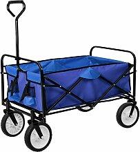 Helloshop26 - Chariot de jardin pliable 80 kg