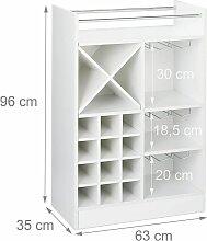 Helloshop26 - Grande étagère meuble à vin 8