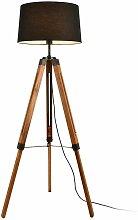 Helloshop26 - Lampadaire lampe à pied trépied