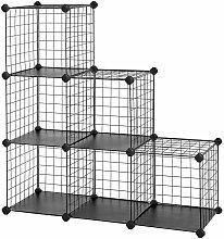 Helloshop26 - Meuble armoire étagère modulable