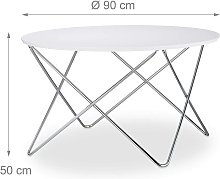 Helloshop26 - Table basse d'appoint ronde