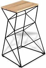 Helloshop26 Tabouret de bar design chaise siège