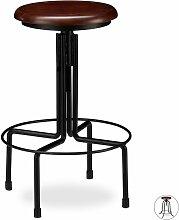 Helloshop26 - Tabouret de bar industriel chaise