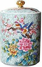 Hemoton 245ML Boîte à Thé en Céramique Chinois