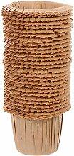 HEMOTON 30 pièces Tasses en Papier Muffin à
