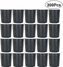 Hemoton 300 Pcs Pépinière Pot Plante en