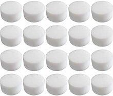 Hemoton 50 Pcs Hydroponique Éponge Fixation Semis