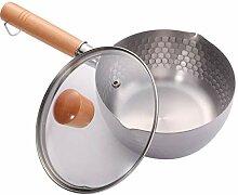 Hemoton Casserole Pot de Lait Antiadhésif Pot à