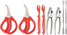 HEMOTON Fruits de Mer Outils Ensemble des Fruits