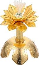 HEMOTON Lotus Bouddhiste Lumières Lampe De Ghee