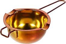 Hemoton Marmite double en acier inoxydable avec