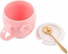Hemoton Tasse à café en céramique avec