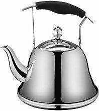 Hemoton Whistling Bouilloire Cuisinière Thé Pot