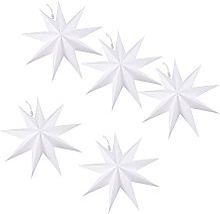 HENHEN Jun Store 5pcs Origami étoiles Abat-Jour