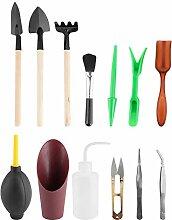 HERCHR Kit d'outils Succulents 13 pièces,