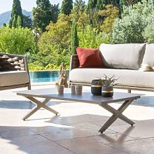 Hespéride Table basse de jardin rectangulaire
