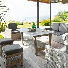 Hespéride Table de jardin rectangulaire