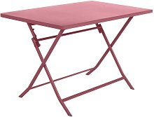 Hesperide - Table rectangulaire Greensboro marsala