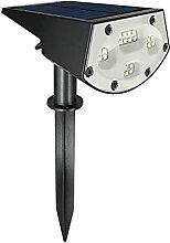 HETP Lampe Solaire Extérieur【Installation 2 en
