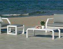 Hevea - Salon de jardin détente 6 places Bellagio