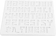 HEYXI Version Alphabet 3D Lettre Majuscule Moule