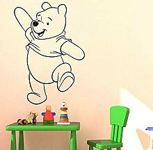 HGFDHG Winnie l'ourson Stickers muraux Chambre