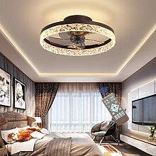 HGW Ventilateur de Plafond LED avec éclairage et