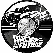 hhhjjj Retour vers Le Futur Horloge Murale