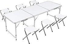 HHORB Table De Camping Pliable Table De Jardin