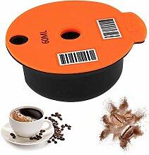 Hidyliu Filtre à café réutilisable pour machine
