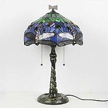 HIJIN Lampe De Bureau De Table De Style Tiffany,