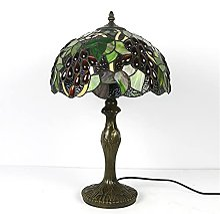 HIJIN Lampe De Table De Style Tiffany, 30 * 45 Cm