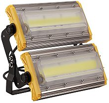 Himanjie 100W LED Projecteur Lumière,Blanc Froid