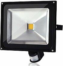 Himanjie® 50W LED Projecteur Extérieur et